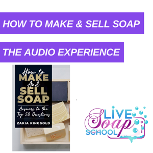 How to make soap audiobook