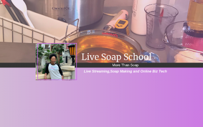 Let's make a Soap Cake LIVE